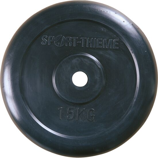 Sport-Thieme® Gummierte Hantelscheibe 15 kg