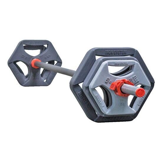 Hot Iron® Langhantel-Set Premium Grau