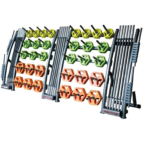 Hot Iron® Ablageständer 310x80x140 cm