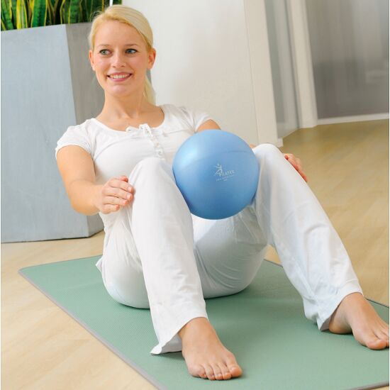 Sissel® Pilates Soft Ball ø 22 cm, Blau