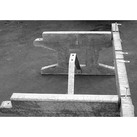 """Untergestell für die Sport - Thieme® Tischtennisplatte """"Premium lang"""""""