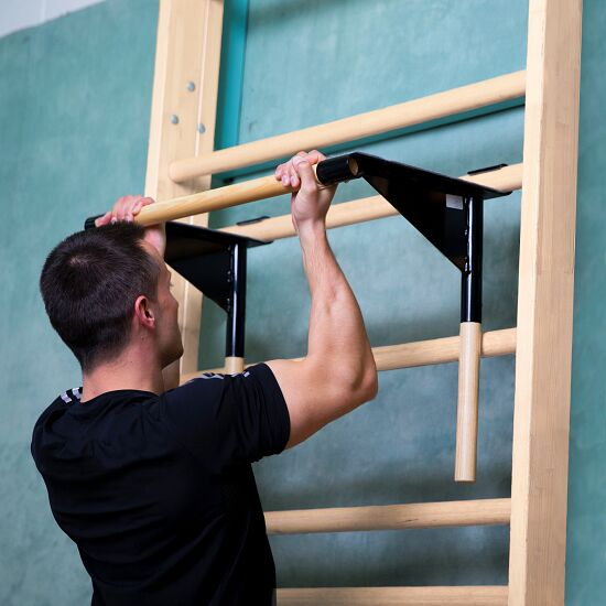 Sport-Thieme® Sprossenwand mit Klimmzug-Dip-Stange Sprossenwand 210x80 cm