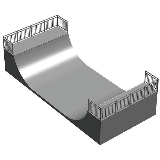 Miniramp (HxBxL): 150x480x1050 cm