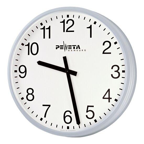 Peweta® Großraum-Wanduhr ø 42 cm, Batteriebetrieb Standard, Zifferblatt arabische Zahlen
