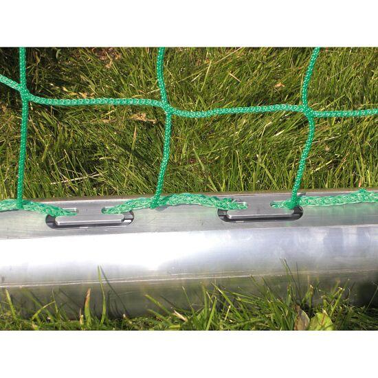 Vollverschweißtes Kleinfeldtor 3x2 m, transportabel, eingefräster Netzhalteschiene, 3x2 m