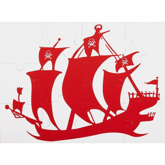 Sport-Thieme® Unterwasser-Wendepuzzle Klein, Piratenschiff und Truhe