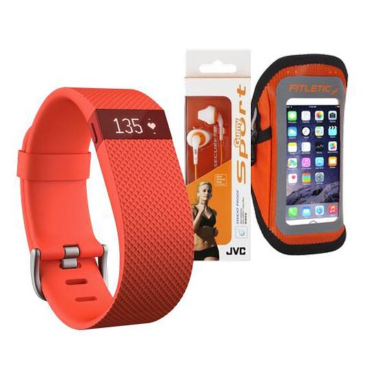 """Fitbit® Fitness-Paket """"Charge HR"""" S"""