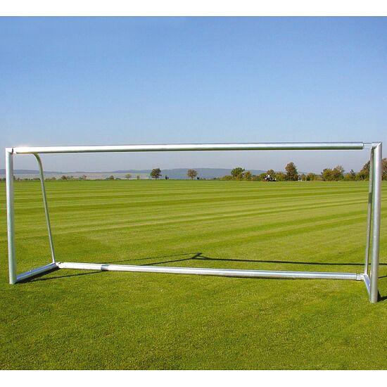 Alu-Fußballtore, 7,32x2,44 m, teilverschweißt, mit Bodenrahmen