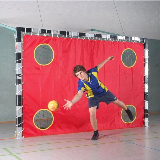 Sport-Thieme® Hallenhandball Torwandnetz Mit 4 Löchern