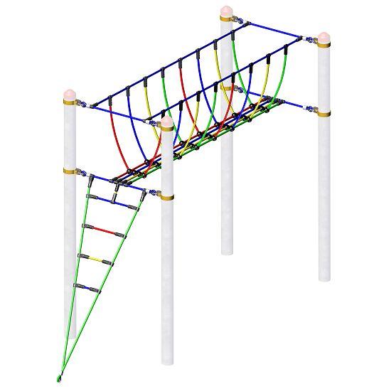 Huck Vario-Kletterpark, Einzelelemente Seilbrücke