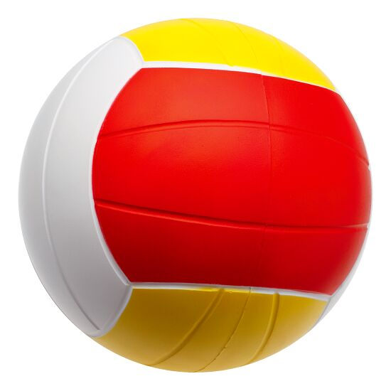 Sport-Thieme® PU-Volleyball Rot/Gelb/Weiß, ø  200 mm, 290 g
