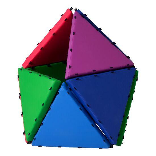 Tukluk® Mattenbausatz Kleine Dreiecke, L: 50 cm, Pro-Version