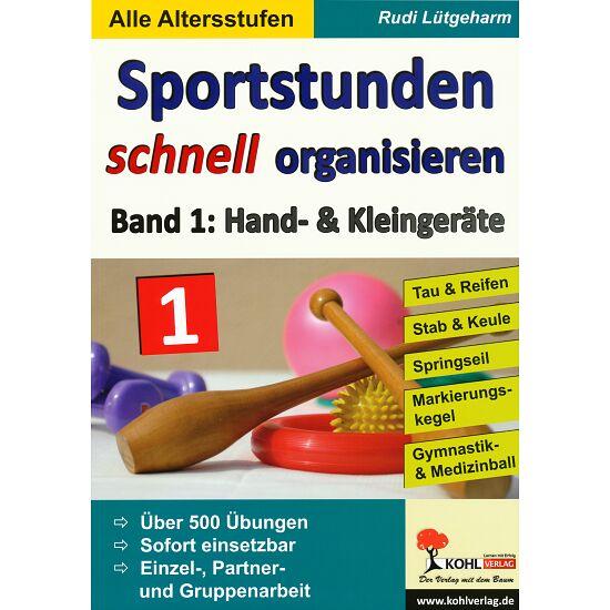 """Buch """"Sportstunden schnell organisieren"""" Band 1"""