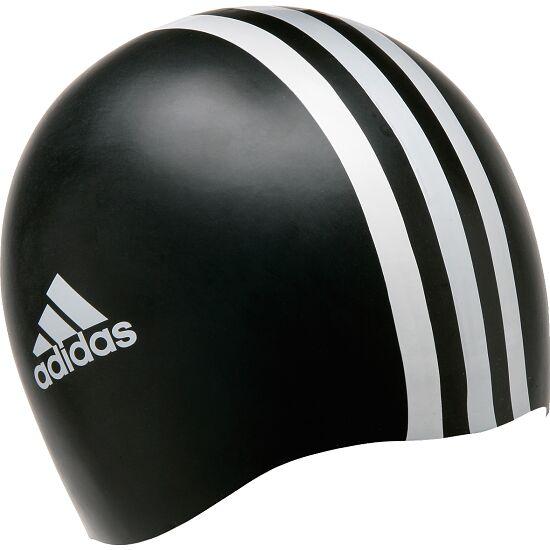 """Adidas® Schwimmkappe """"3S"""" Schwarz-Weiß"""