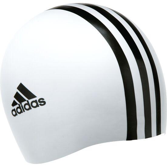 """Adidas® Schwimmkappe """"3S"""" Weiß-Schwarz"""