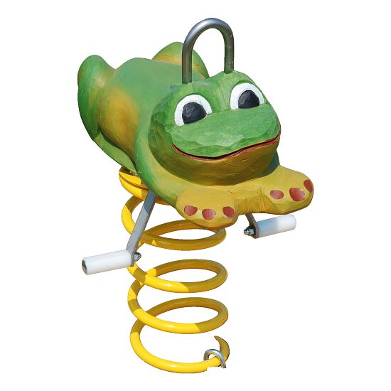 Federwippe Frosch
