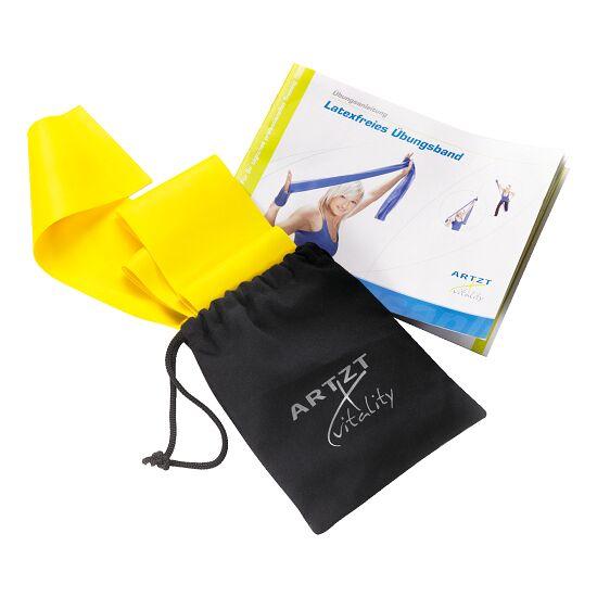 Artzt® Vitality Übungsband, latexfrei 2,5 m, Gelb, leicht