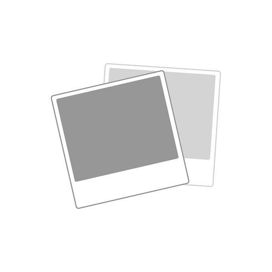 Sypro Wolf® Umkleidebank für Feuchträume mit Rückenlehne, doppelseitig 1,01 m , Ohne Schuhrost