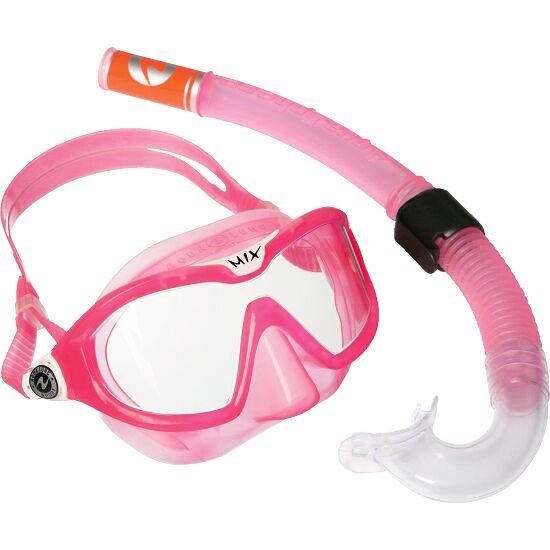 """Aqua Lung® Kinder-Schnorchelset """"Reef"""" Transparent Pink"""