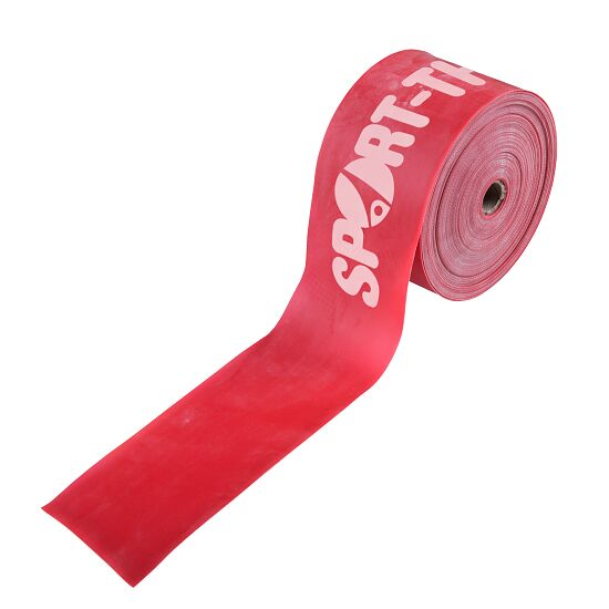 Sport-Thieme® Fitness-Band 75 25 m x 7,5 cm, Rot = extra stark