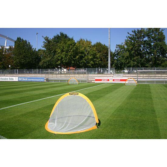 """Fußballtrainings-Tore Paar """"Pugg Pop up"""" Blau, 122x76x76 cm"""
