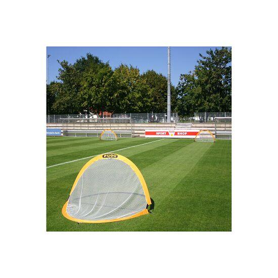 """Fußballtrainings-Tore Paar """"Pugg Pop up"""" Gelb, 183x107x107 cm"""