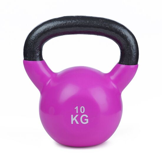 Sport-Thieme® Kettlebell Vinyl 10 kg, Lila