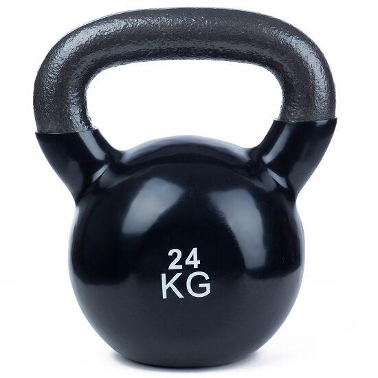 Sport-Thieme® Kettlebell Vinyl 24 kg, Schwarz