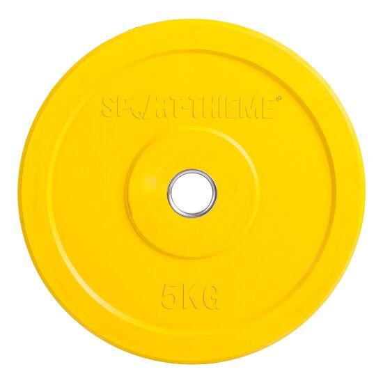 Sport-Thieme® Bumper Plate, bunt 5 kg, Gelb