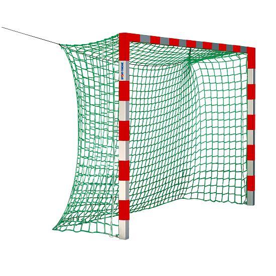 Sport-Thieme® Hallenhandballtor, 3x2 m, ohne Netzbügel Rot-Silber