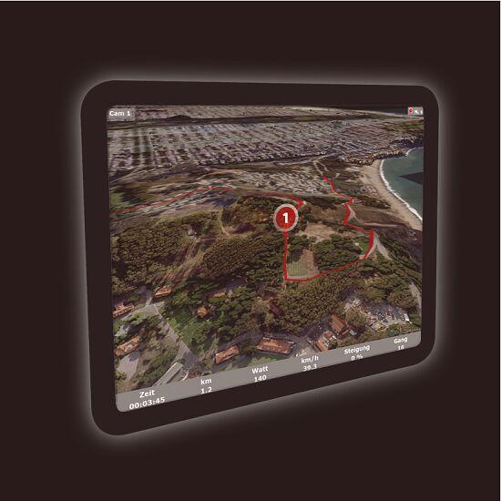 "Kettler® Trainingssoftware ""World Tours 2.0"""