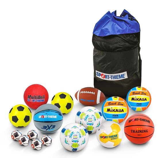 Sport-Thieme® Pausen-Set 2 Bälle im Ballsack