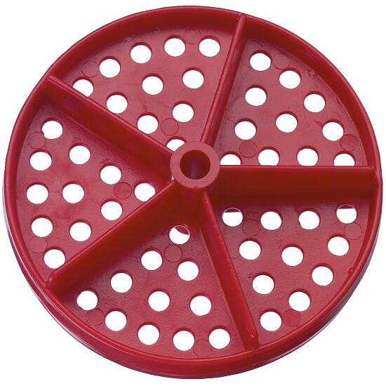 Lochscheibe für Competitor™ Schwimmleine Standard ø 100 mm (2er Set) Rot