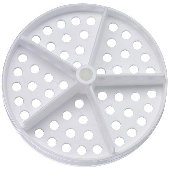 Lochscheibe für Competitor™ Schwimmleine Standard ø 100 mm (2er Set) Weiß