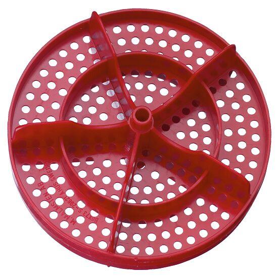 Lochscheibe für Competitor™ Schwimmleine Gold ø 150 mm Rot