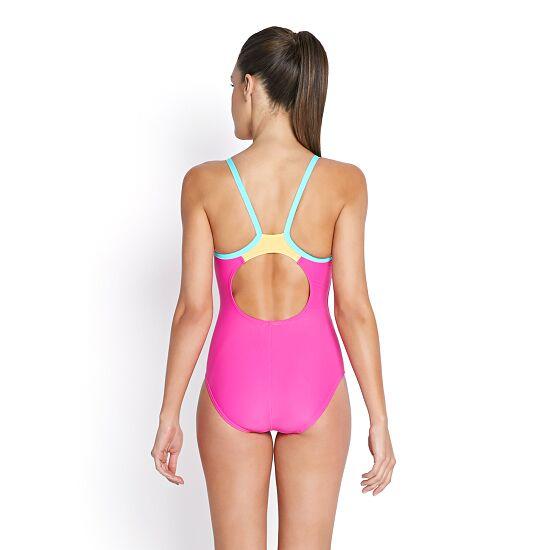 Speedo® Schwimmanzug Thinstrap Muscleback Adriatic/Wild Lime/Violet