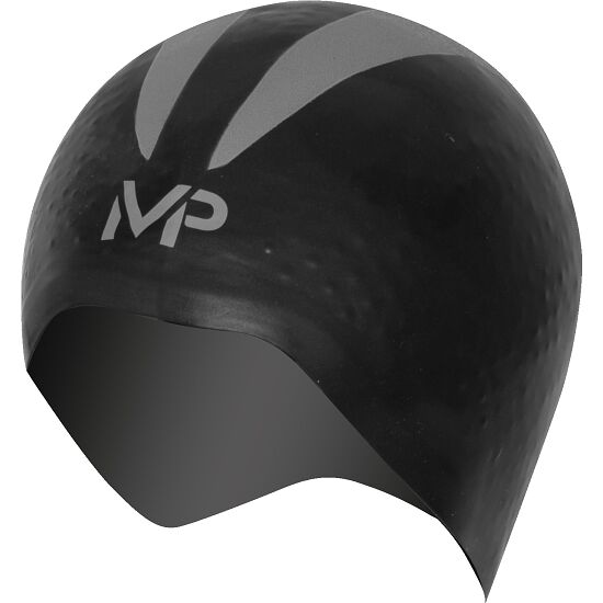 "Aqua Sphere® MP™ Schwimmkappe ""X-O"" Black/Silver"