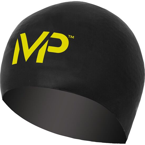 "Aqua Sphere® MP™ Schwimmkappe ""Race"" Black/Yellow"