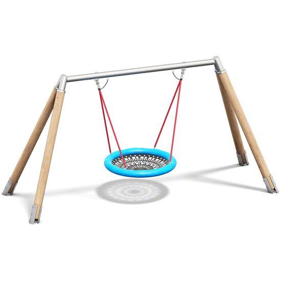 Playparc Vogelnestschaukel Holz/Metall Aufhängehöhe 260 cm