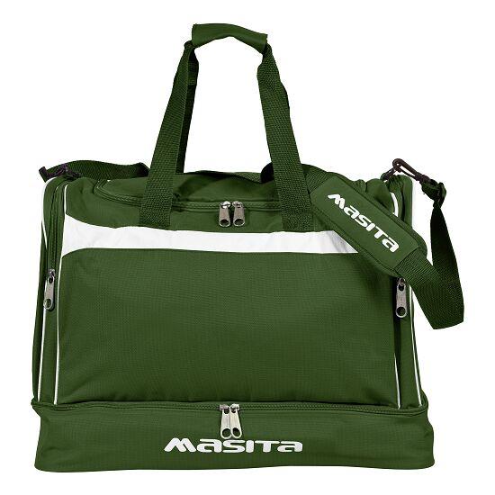 """Masita® Sporttasche """"Brasil"""" mit Bodenfach Junior = 50x39x31 cm, Grün-Weiß"""
