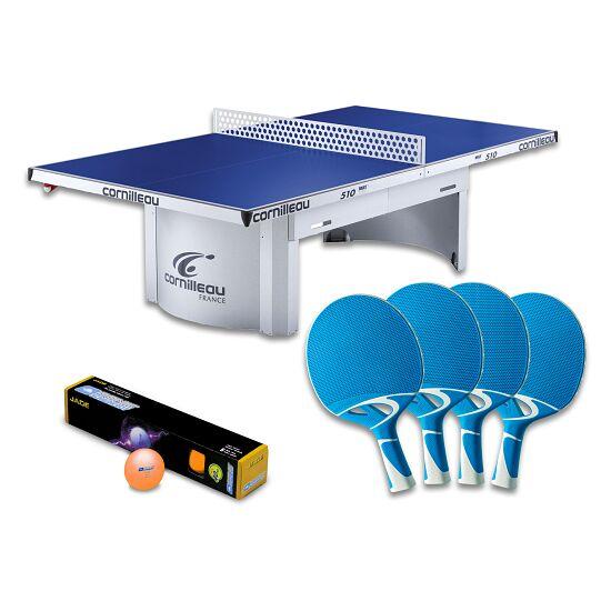 """Cornilleau® Tischtennisplatte """"PRO 510 Outdoor""""-Set Blau"""