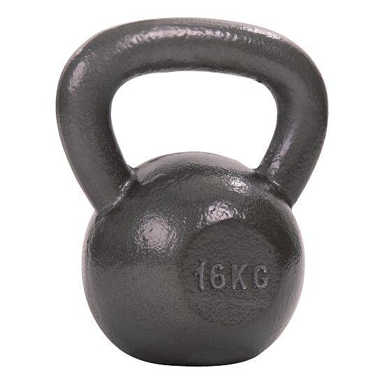 Sport-Thieme® Kettlebell Hammerschlag, lackiert, Grau 16 kg