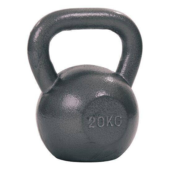 Sport-Thieme® Kettlebell Hammerschlag, lackiert, Grau 20 kg