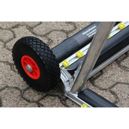 Safety-Minitor, vollverschweißt mit PlayersProtect Torinnenmaß 1,20x0,80 m