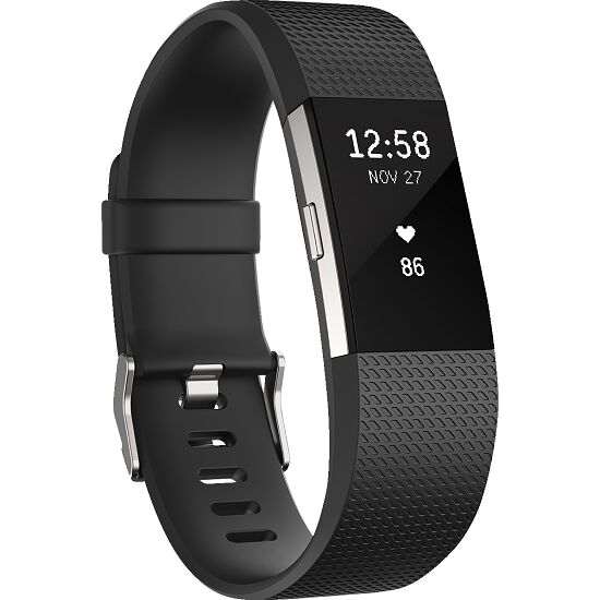 Fitbit® Charge 2 Schwarz, Gr. S