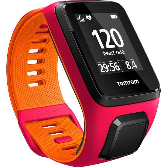 """TomTom Sportuhr """"Runner 3"""" Gr. S, Pink/Orange"""