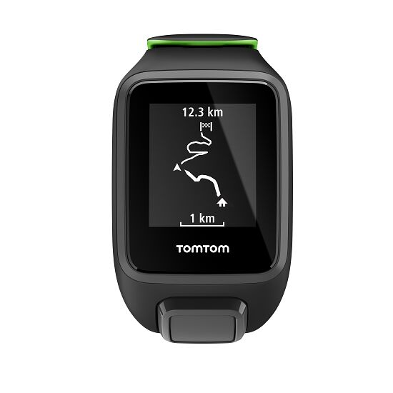 """TomTom Sportuhr Runner 3 """"Cardio"""" Gr. S, Schwarz/Grün"""