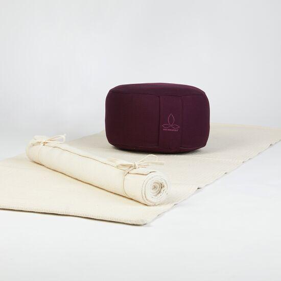 """Sitzkissen """"Rondo"""" ø 38 cm, H: 28 cm, Bordeaux"""