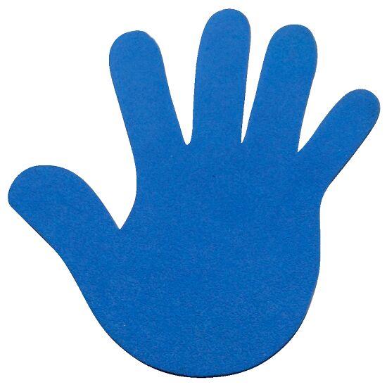 Sport-Thieme® Bodenmarkierung Hand, 14,5 cm, Blau
