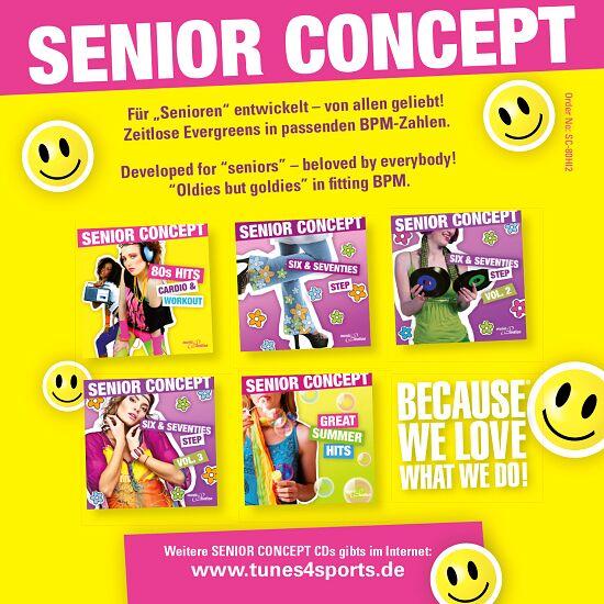 """CD """"Senior Concept 80s Hits, Vol. 2"""